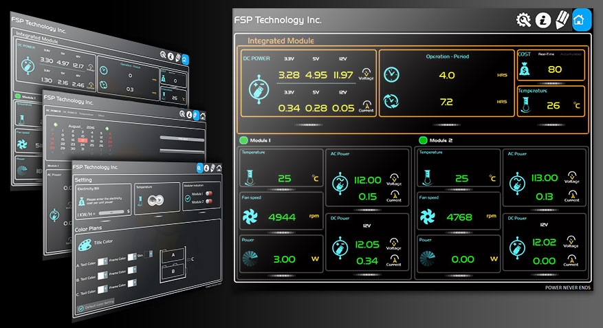 FSP Group Twins Intelligent Monitor Software