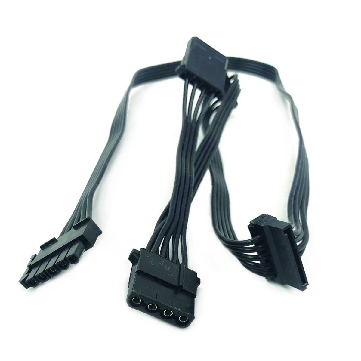 Modular Cable: 2 Molex, 2 SATA for PT-1000/PT-1200