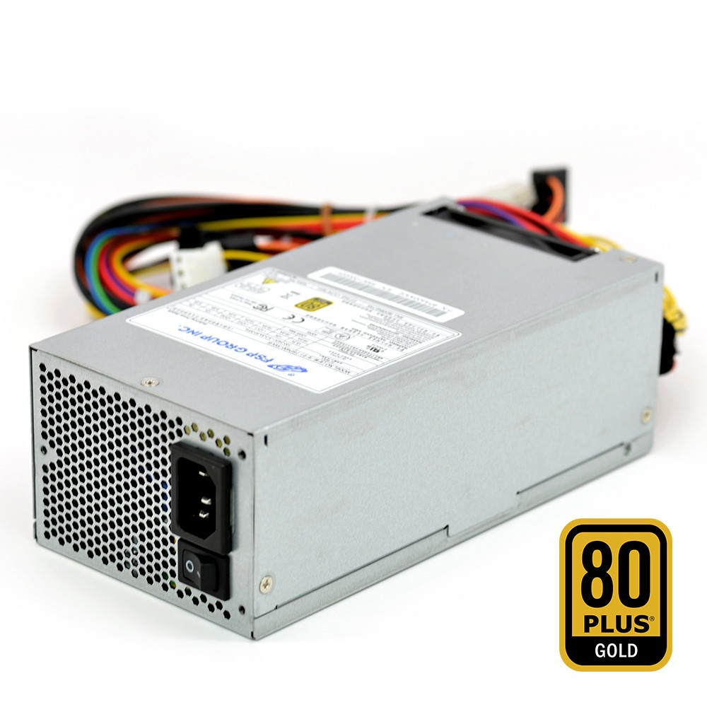 FSP Group 400W ATX Power Supply Single 2U Size 80 PLUS Gold Certified for Rack Mount Case (FSP400-702US)