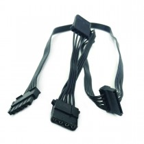 Modular Cable: 2 Molex, 2 SATA for PT-1000/PT-1200